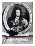 Gottfried Wilhelm Leibniz Giclee Print by  French School