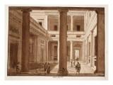 The Palazzo Massimo, 1833 Giclee Print by Agostino Tofanelli