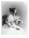 Teresa, Contessa Guiccioli Giclee Print by Alfred-edward Chalon