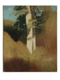 Tree with Blue Sky Giclee Print by Odilon Redon