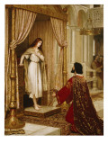 A King and a Beggar Maid, 1898 Reproduction proc&#233;d&#233; gicl&#233;e par Edmund Blair Leighton