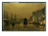 Salthouse Dock, Liverpool Giclee Print by  Grimshaw