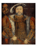 Portrait of Henry Viii Premium Giclee Print by Hans Holbein the Younger