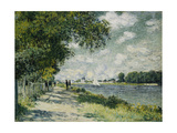 The Seine at Argenteuil, 1875 Giclee Print by Claude Monet