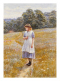 Daydreamer, 1878 Giclee Print by Helen Allingham