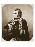 Gustave Dore, 1855 Giclee Print by  Nadar