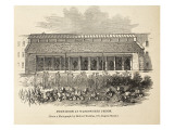 Pump-Room at Wandsworth Prison Giclee Print by  English School