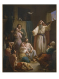Interior of Noah&#39;s Ark, 1857 Giclee Print by Joaquin oe Joaquim Ramirez