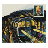 London's Underground Giclee Print by Green