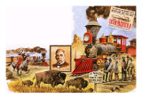 The Union Pacific Railroad Giclee Print by  English School