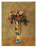 Vase of Flowers, 1912 Giclee Print by Odilon Redon