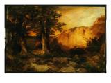 The Grand Canyon, 1897 Premium Giclee Print by  Moran