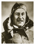 World&#39;s First Aeroplane Pilot Giclee Print by English Photographer 