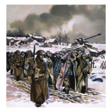 The Ardennes Offensive, 1963 Giclee Print by Ron Embleton