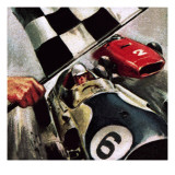 Mike Hawthorn, 1968 Giclee Print by  McConnell
