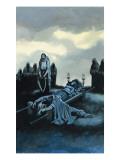 Tannhauser and Elizabeth Giclee Print by Ron Embleton