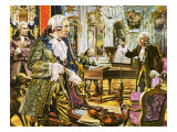 Frederick the Great Giclee Print by Payne 