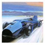 Racing Against Time Giclee Print by Graham Coton