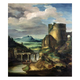 Paysage Classique: Matin Giclee Print by Theodore Gericault