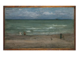 The Sea, Pourville, 1899 Giclee Print by James Abbott McNeill Whistler