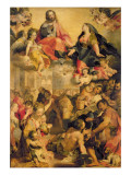 Madonna of the People, 1576-79 Giclee Print by Federico Barocci