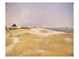 View of Fort Samson, 1885 Giclee Print by Georges Seurat