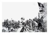Paris Commune, 1972 Giclee Print by  English School