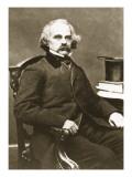Nathaniel Hawthorne Giclee Print by Mathew Brady