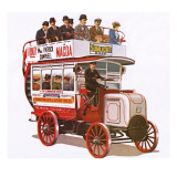 Buses Without Horses Giclee Print by John Keay