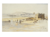 Luxor, 17th February 1854 Giclee Print by Edward Lear