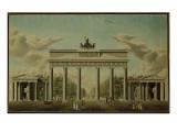 Brandenburg Gate, 1812 Giclee Print by  German School
