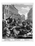 Second Stage of Cruelty, 1751 Giclee Print by William Hogarth