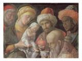 Adoration of the Magi Giclée-tryk af Andrea Mantegna