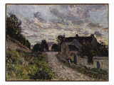The Path to Louveciennes, 1876 Giclee Print by Alfred Sisley