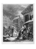 Times of the Day, Morning, 1738 Giclee Print by William Hogarth