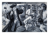 Life Below Deck Giclee Print by Paul Rainer