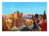 Defeated Athenians Giclee Print by Andrew Howat