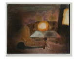 The Lamp on the Terrace, 1925 Giclee Print by Paul Klee