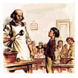 Oliver Twist Asking for More Giclee Print by McConnell