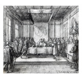 Henry Viii in His Privy Chamber Giclee Print by Hans Holbein the Younger