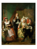 Le Malade Imaginaire, 1861 Giclee Print by Abraham Solomon