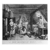 The Distressed Poet, 1740 Giclee Print by William Hogarth