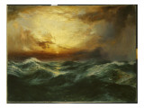 Sunset after a Storm, 1901 Premium Giclee Print by  Moran