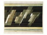Diagonal-Medien, 1922 Giclee Print by Paul Klee