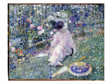 Garden in June, 1911 Giclee Print by Frederick Carl Frieseke