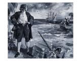 Lieutenant Alexander Selkirk Giclee Print by Paul Rainer