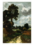 Oil Sketch of Stoke-By-Nayland Premium Giclee Print by John Constable