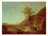 Hilly Italianate Landscape Giclee Print by Aelbert Cuyp