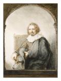 Self Portrait 1634 Giclee Print by  Rembrandt van Rijn