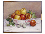 Still Life with a Pomegranate Giclee Print by Pierre-Auguste Renoir